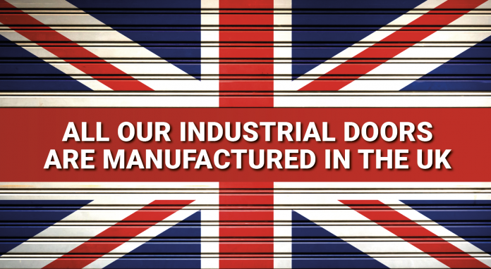 Industrial Doors manufactured in Britain